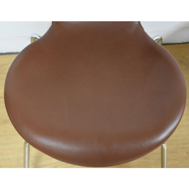 Fabulous Brown Leather Chrome Dining Chairs Set Of 8 Creativecarmelina Interior Chair Design Creativecarmelinacom