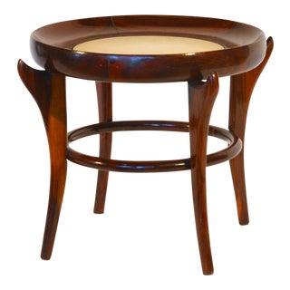 Rare 'Maracana' Brazilian Jacaranda Side Table by Guiseppe Scapinelli For Sale