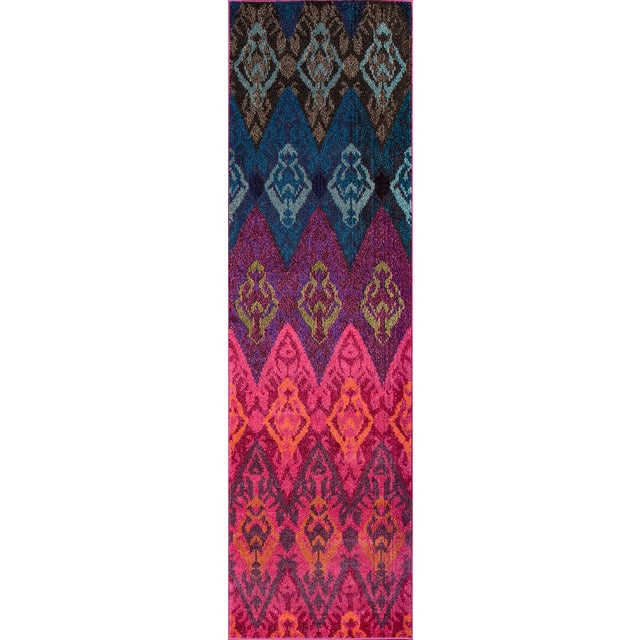 "2010s Contemporary Momeni Casa Polypropylene Multi Area Rug - 7'10"" X 9'10"" For Sale - Image 5 of 6"