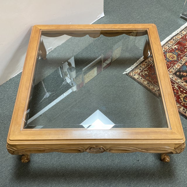 Century Furniture Chardeau Collection Coffee Table For Sale In San Francisco - Image 6 of 12