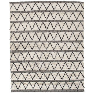 "Pasargad N Y Moroccan Hand-Knotted Rug - 3′1"" × 5′1"" For Sale"