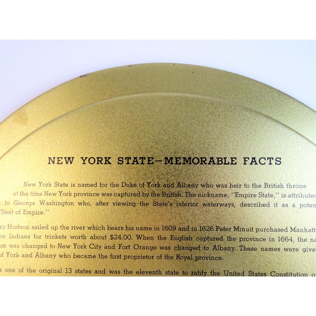 Vintage New York Souvenir Tray For Sale - Image 11 of 11