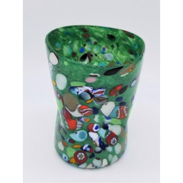 Glass Murano Glass Custom Set of 10 Glasses Goti For Sale - Image 7 of 11