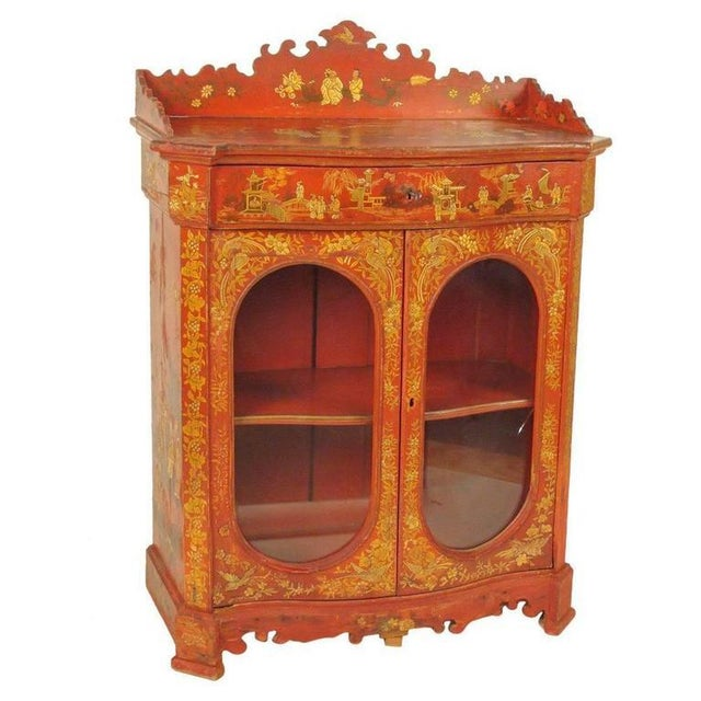 Chinoiserie Decorated Cabinet - Image 10 of 10