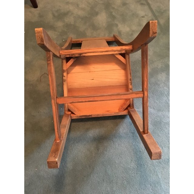 1969 Vintage Wooden Chair - Image 7 of 9