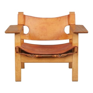 Spanish Chair by Børge Mogensen for Fredericia Furniture For Sale