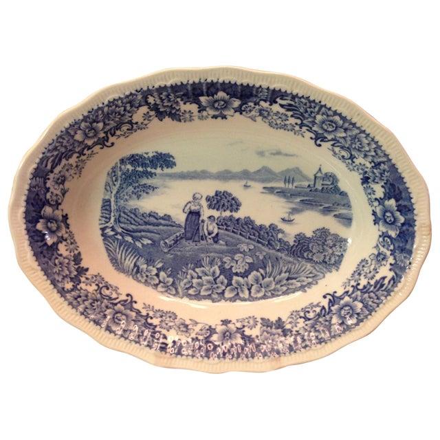 Staffordshire England Swinnertons Oval Bowl - Image 1 of 8