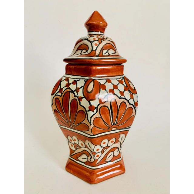 Mexican Talavera Pottery Ginger Jar For Sale In Los Angeles - Image 6 of 6
