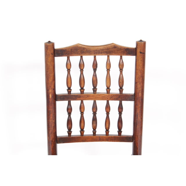 19th-C. Antique English Dining Chairs - Set of 4 - Image 6 of 11