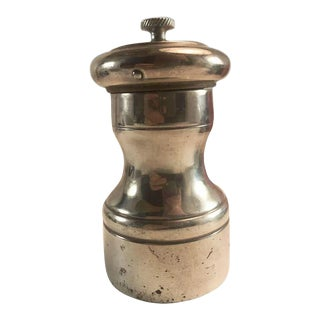 Sterling Silver Pepper Mill Grinder Italy For Sale