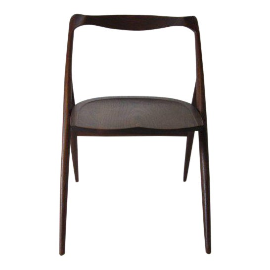 George Suyeoka Studio Chair Prototype in the Style of George Nakashima For Sale