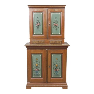 Swedish Antique Cabinet For Sale