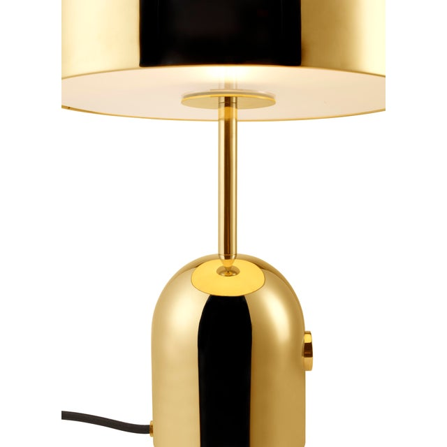 Formed from chrome plated steel, Bell is an exercise in reductionism. Its polished surface reflecting the characteristics...