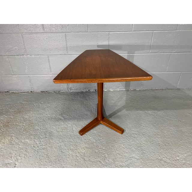 Brown 1960s Mid-Century Swedish Modern Dux Teak Side Table For Sale - Image 8 of 13