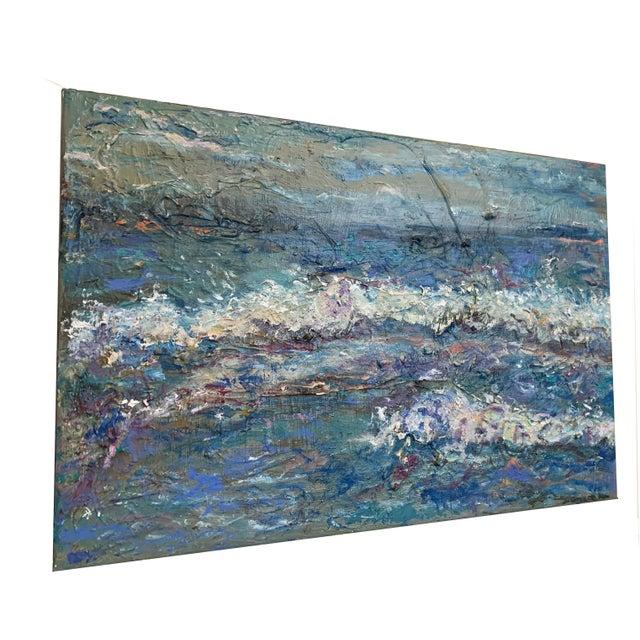 "Sea Me' Original Oil Painting 15""x10"" Gallery Canvas Nancy T. Van Ness Artist… I communicate my feelings and emotions..."