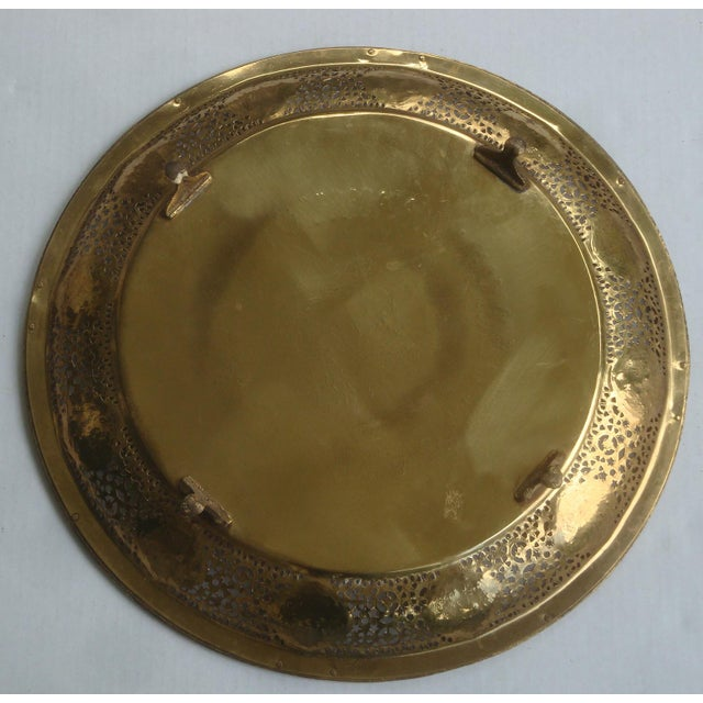 Pierced Brass Tray Chinese Zodiac Animals For Sale - Image 9 of 10