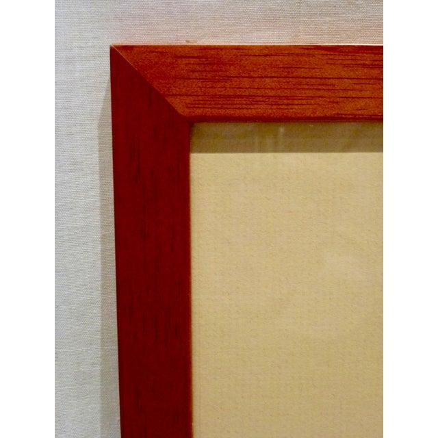 Paper Original Cubist Movement Block Print Portrait For Sale - Image 7 of 9