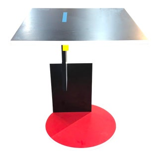 Postmodern Gerrit Rietveld Schroeder Side Table For Sale