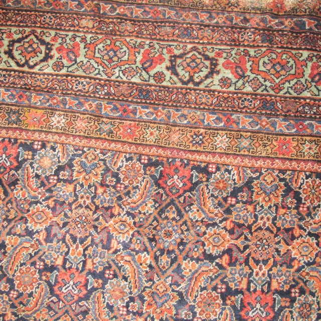 Fereghan Carpet with Classic Herati Design - Image 4 of 6
