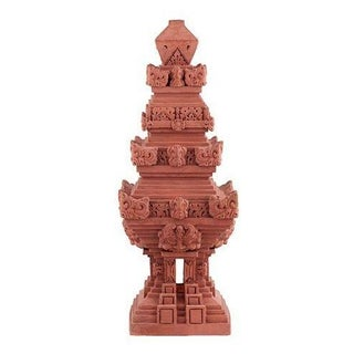 Balinese Terra-Cotta Candi Temple For Sale