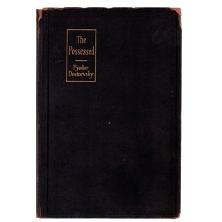 "1916 ""The Possessed"" Collectible Book For Sale"