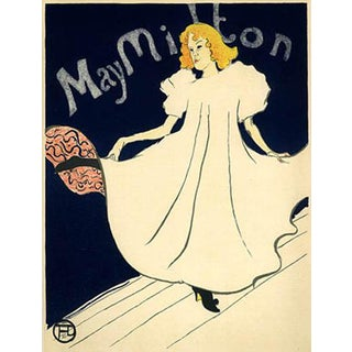 1966 Mourlot Toulouse Lautrec May Milton Lithograph 18 For Sale