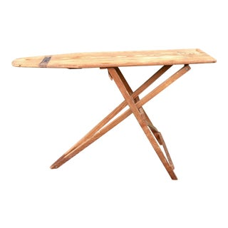 Antique Wooden Ironing Board