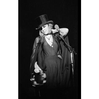 1975 Original Giclee Photograph of Stevie Nicks of Fleetwood Mac For Sale