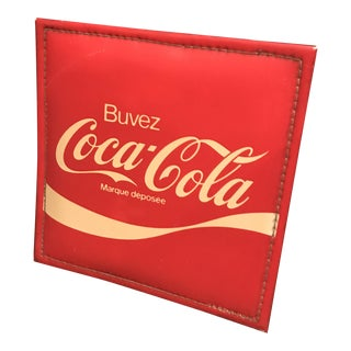 1960 Brazil Vintage Coca Cola Vinyl Sign