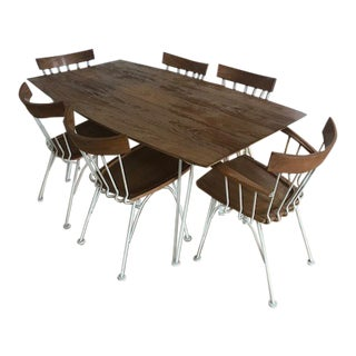 1960s Mid-Century Modern Russell Woodard Allegro Dining Set - 7 Pieces For Sale