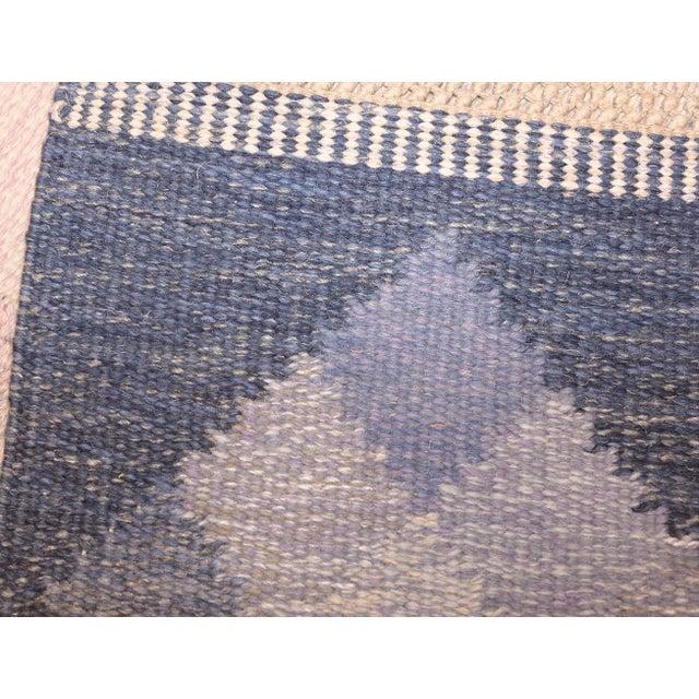 Vintage Swedish Kilim Rug by Britta Swefors - 6′6″ × 9′3″ For Sale - Image 4 of 9