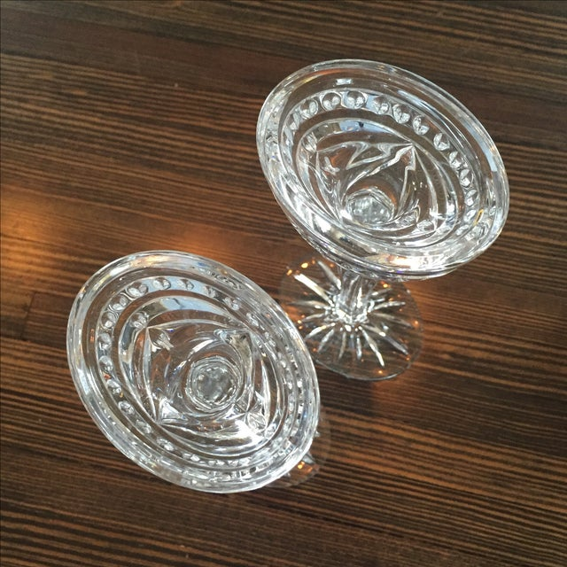 Waterford Crystal Candlesticks - Pair For Sale - Image 5 of 6