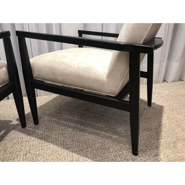 2010s Mid-Century Style Chairs by Arhaus - a Pair For Sale - Image 5 of 13