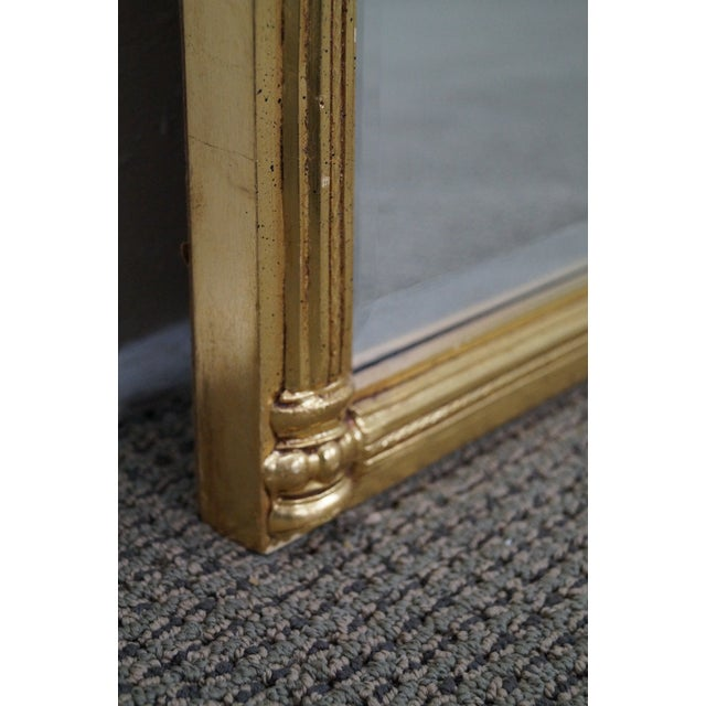 Italian Made Gilt Federal Hanging Wall Mirror - Image 8 of 10