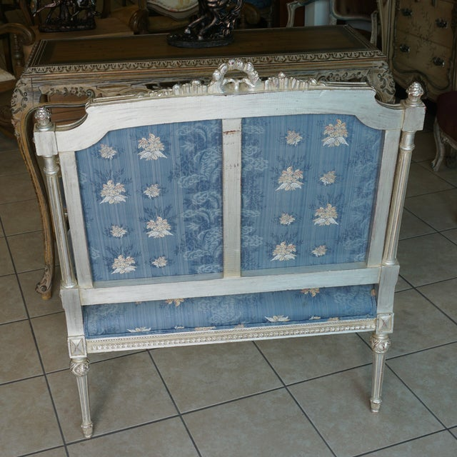 Hand Carved European Settee - Image 5 of 8