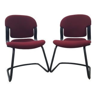 1970s Herman Miller Offices Chairs - a Pair For Sale