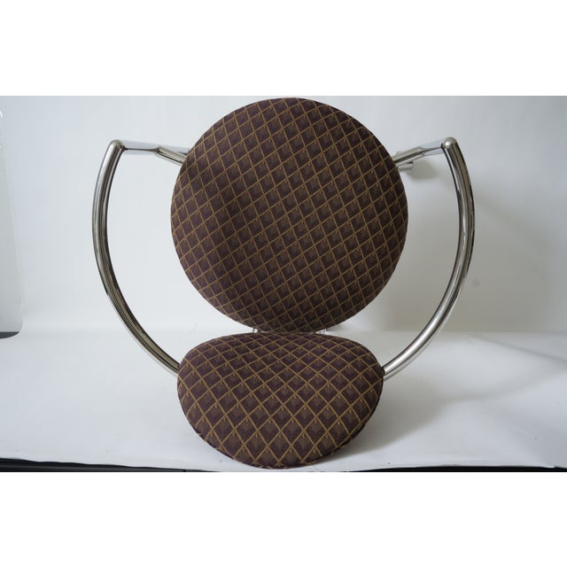 """Vintage Stanley Jay Friedman for Brueton """"Moon Chair"""" - 4 Are Available For Sale In West Palm - Image 6 of 9"""