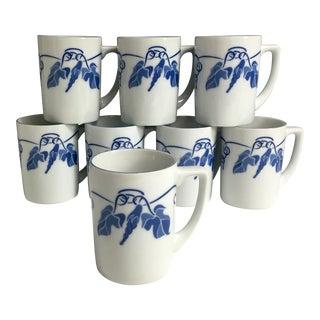 1970s Balos Morning Glory Mug - Set of 8