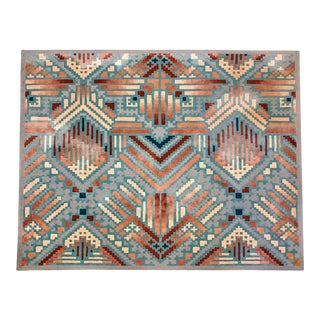 1980s Edward Fields Rug Signed and Dated - 13′4″ × 15′ For Sale