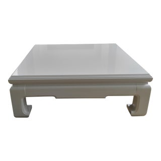 Lacquered Ming Coffee Table