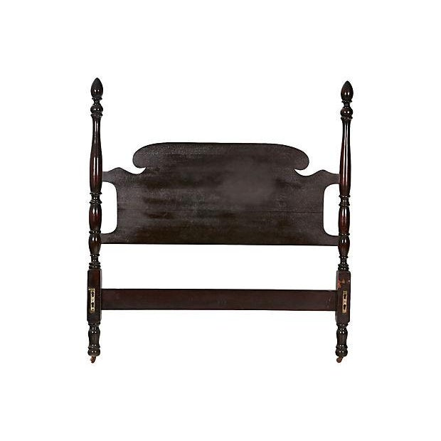 Vintage Mahogany Twin Bed Frame - Image 2 of 4