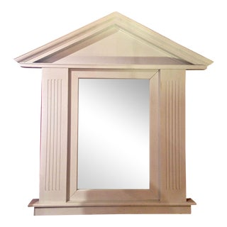 Large Palladian Style Architectural Mirror For Sale