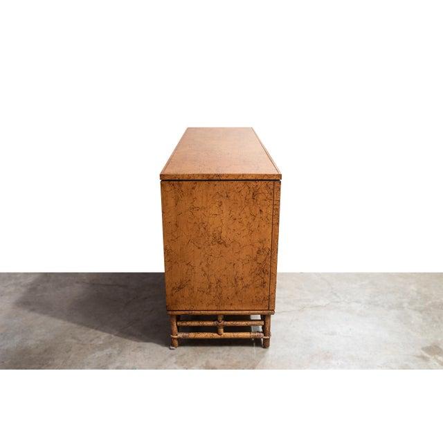 Ficks Reed 1960's Vintage Ficks Reed Faux Bamboo 7 Drawer Dresser For Sale - Image 4 of 13