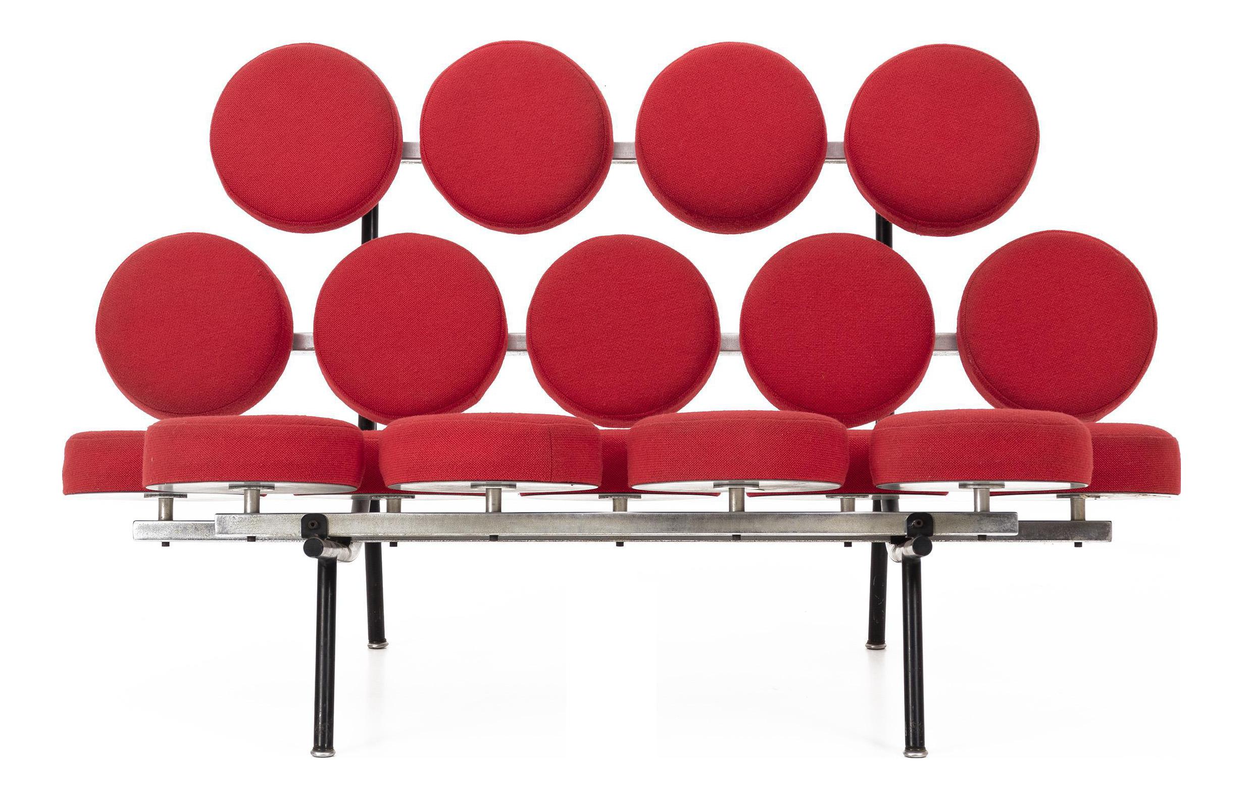 George Nelson Marshmallow Sofa   Image 1 Of 7