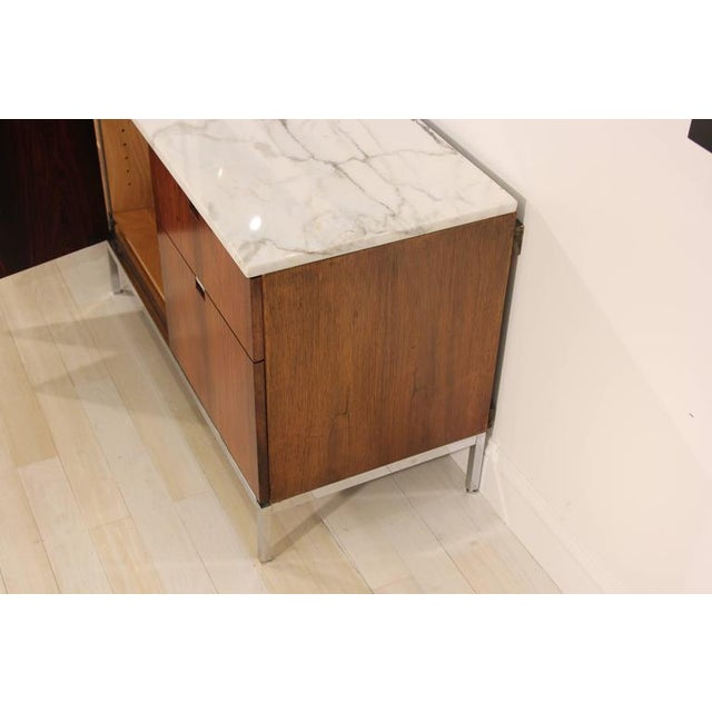 Knoll Rosewood Marble-Top Credenza - Image 7 of 9