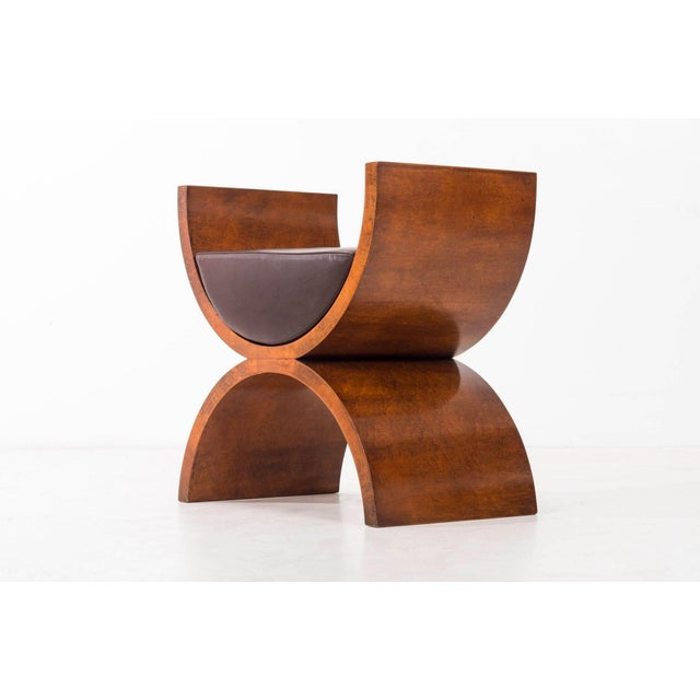 "Contemporary Jay Spectre ""Curule"" Benches For Sale - Image 3 of 7"