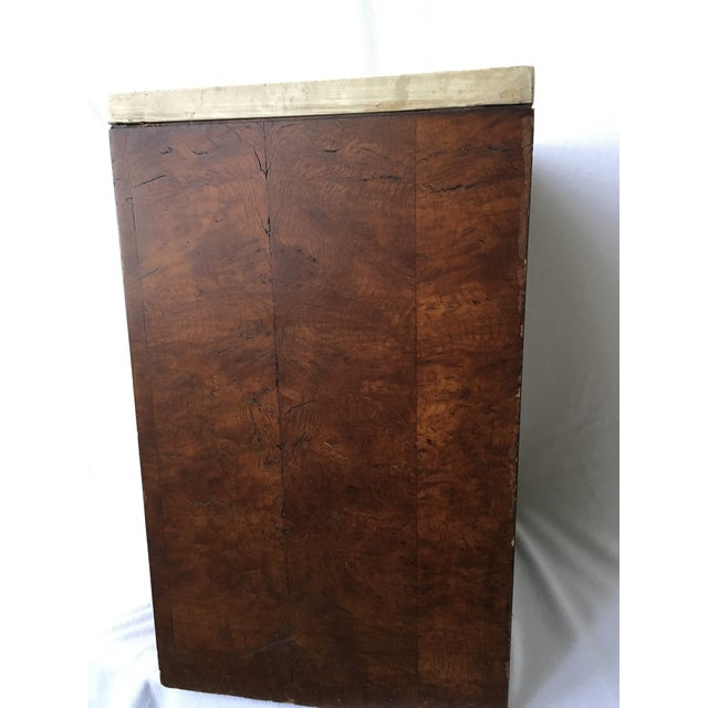 Etched Top Side Table - Image 3 of 7
