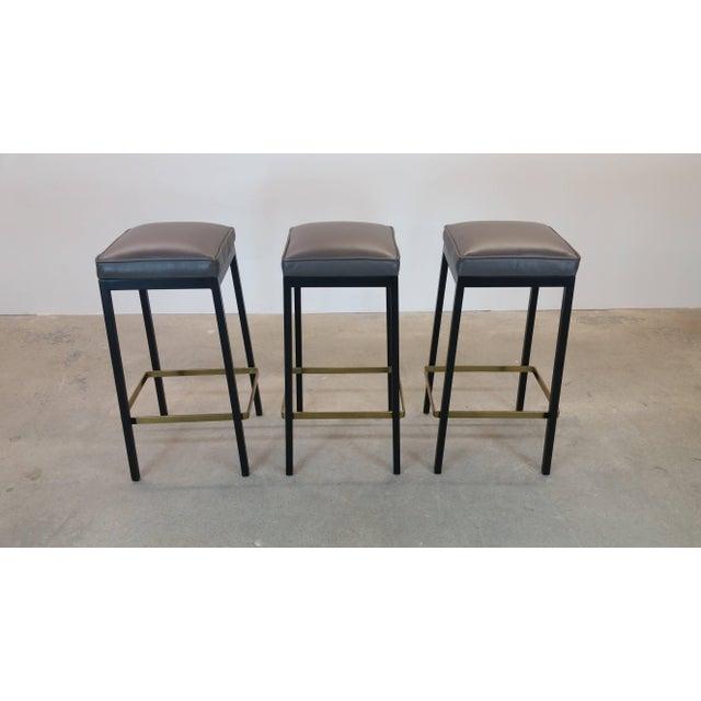 Early Bar Stools by Florence Knoll For Sale - Image 9 of 9