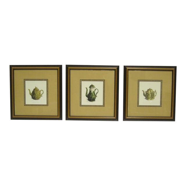 Sarreid LTD Framed Drawings of Vintage Pitchers - Set of 3 - Image 1 of 6