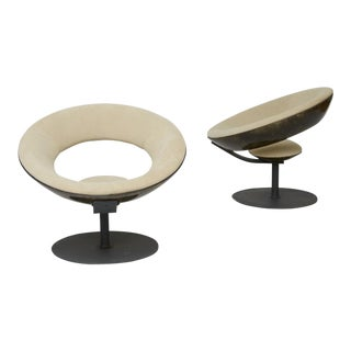 A Pair of Ricardo Fasanello Anel Chairs For Sale
